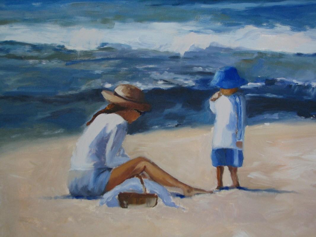 Mary Ann's sandcastles