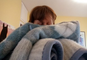 blanket smell