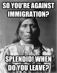 Native American meme